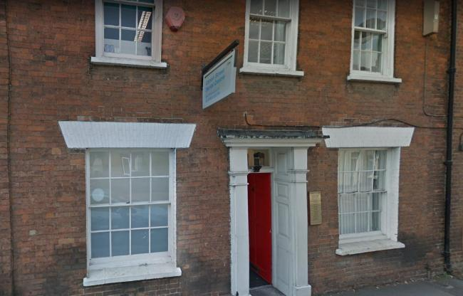 TARGETED: Canon Street Dental Centre, in Taunton