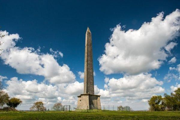 DETERIORATING: Wellington Monument, which desperately needs to be repaired