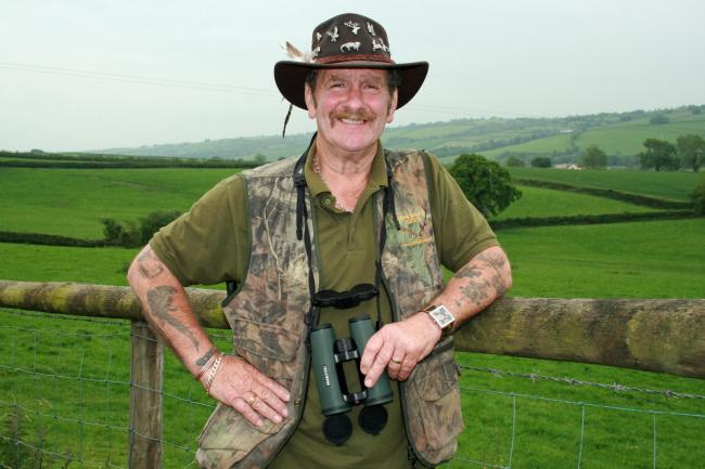 LOVED: Exmoor TV personality Johnny Kingdom