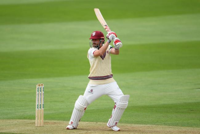CENTURION: James Hildreth was on top form for Somerset on the opening day of the match against Hampshire. Pic: SCCC