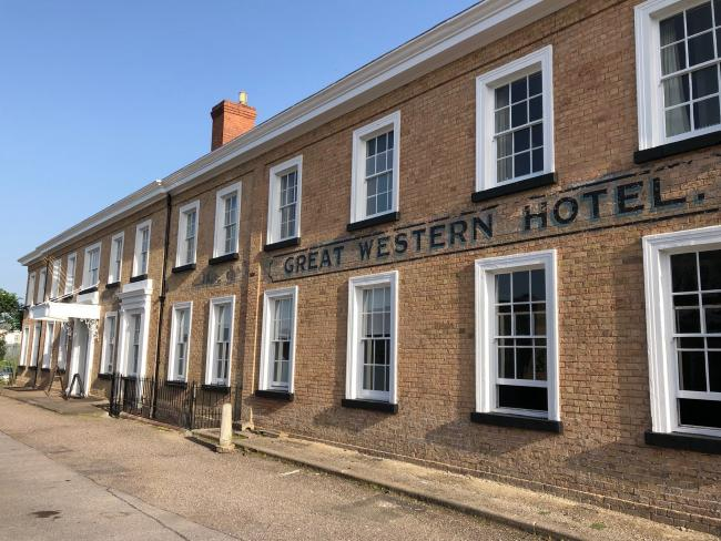 RENOVATION: The Great Western Hotel in Taunton