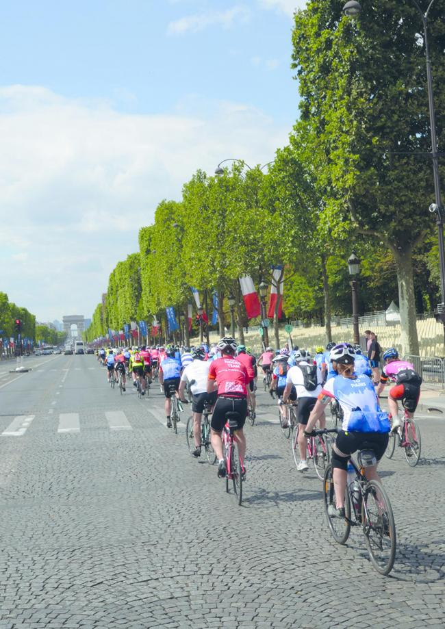 GET INVOLVED: Cyclists are being invited to take part in a London to Paris bike ride to raise money for St Margaret's Hospice