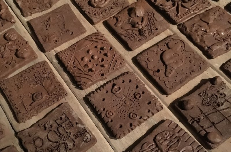 Design and make a clay tile