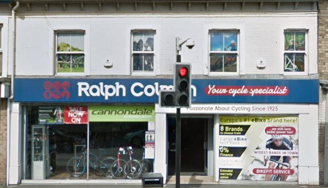 CEASED TRADING: Ralph Colman Cycles