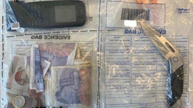 DRUGS HAUL: Paraphernalia seized by police