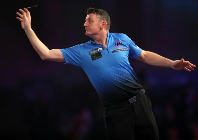 File photo dated 20-12-2017 of Justin Pipe. PRESS ASSOCIATION Photo. Issue date: Friday December 22, 2017. Justin Pipe has denied trying to put his opponent off by coughing on stage at the William Hill World Championship. See PA story DARTS World Pipe. Ph