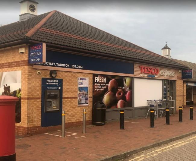 CLOSED: Tesco Express in Lisieux Way