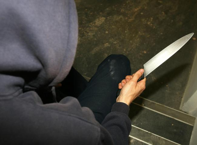 KNIFE CRIME RISE: Knife crime offences have increased by 8 per cent over the year to reach a record high