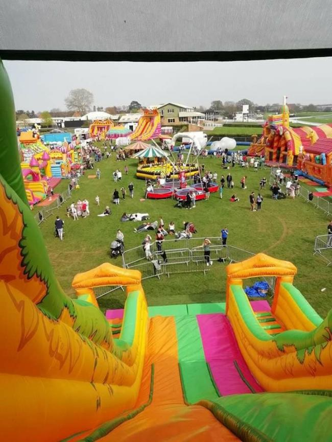 COMING SOON: The Inflatable Park in Taunton