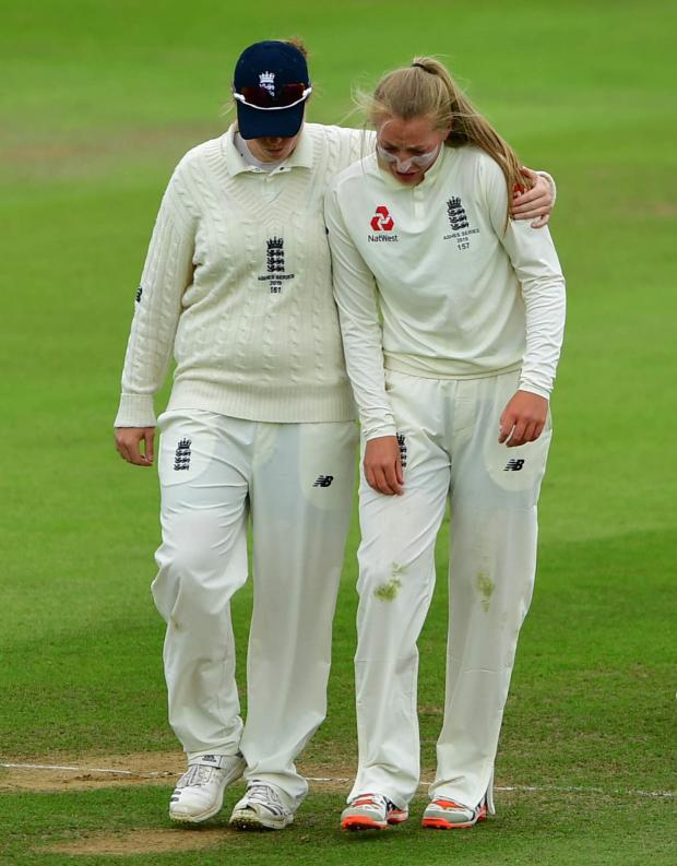Australia continue to dominate England in Women's Ashes Test in Taunton