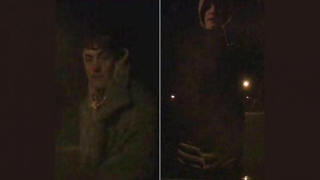 RECOGNISE THIS PERSON: A CCTV image from the incident
