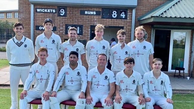Taunton Deane 1st XI Taunton Deane pictured ahead of their win at top of table Winterbourne (from left): back row - Harry Smith, Calvin Harrison, Matt Derham, Charlie Sharland, Grant Davey, Harry Thomas; front - Jamie Stephens, Sam Shaikh (Capt), Jason Sq