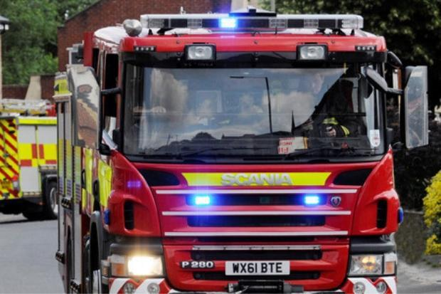Firefighters called to tackle campervan fire in Taunton