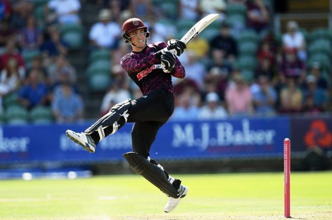 DEFEATED: Tom Banton made a half century but Somerset were beaten by Sussex in Taunton. Pic: Alex Davidson/SCCC