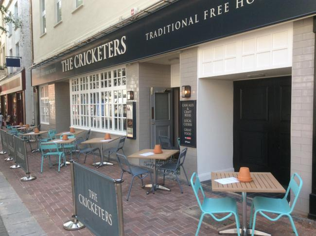 OPENING: The Cricketers, in High Street, Taunton