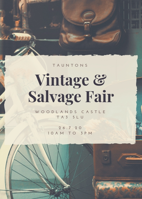 Tauntons Vintage & Salvage Fair 2020