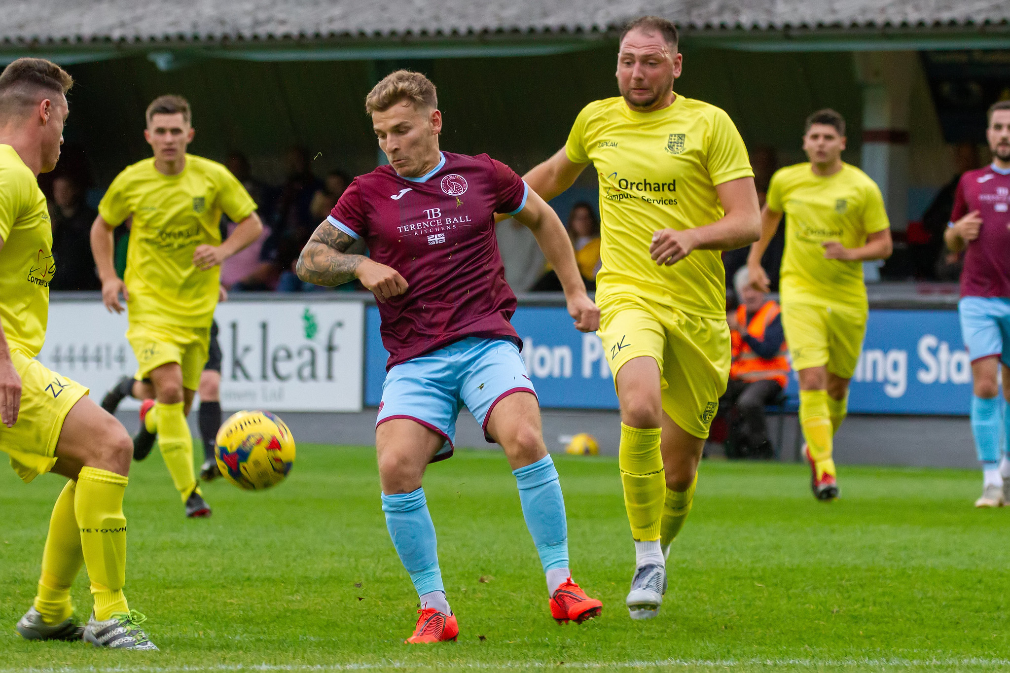 FOOTBALL: Taunton Town boss Rob Dray reacts to Yate Town defeat