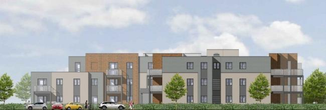 PROPOSED DEVELOPMENT: How the Trinity homes could look