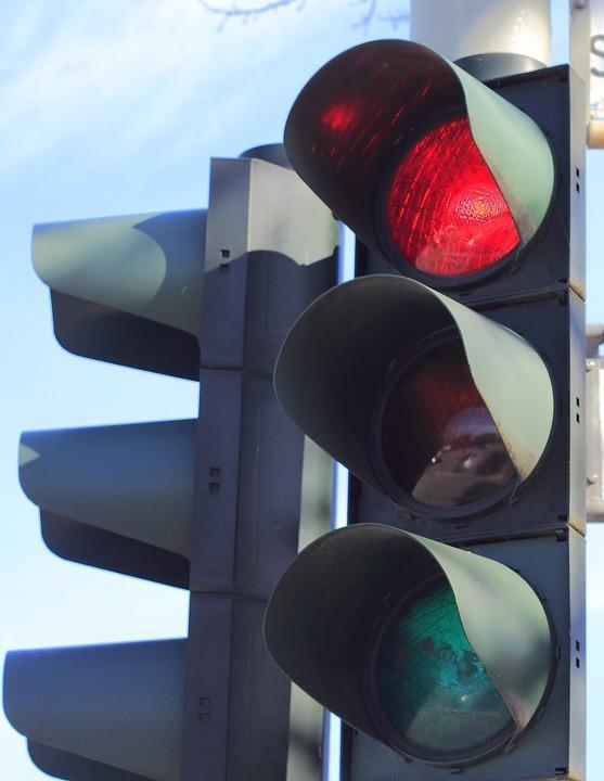 WORKING AGAIN: The traffic lights on Station Road are up and running this morning