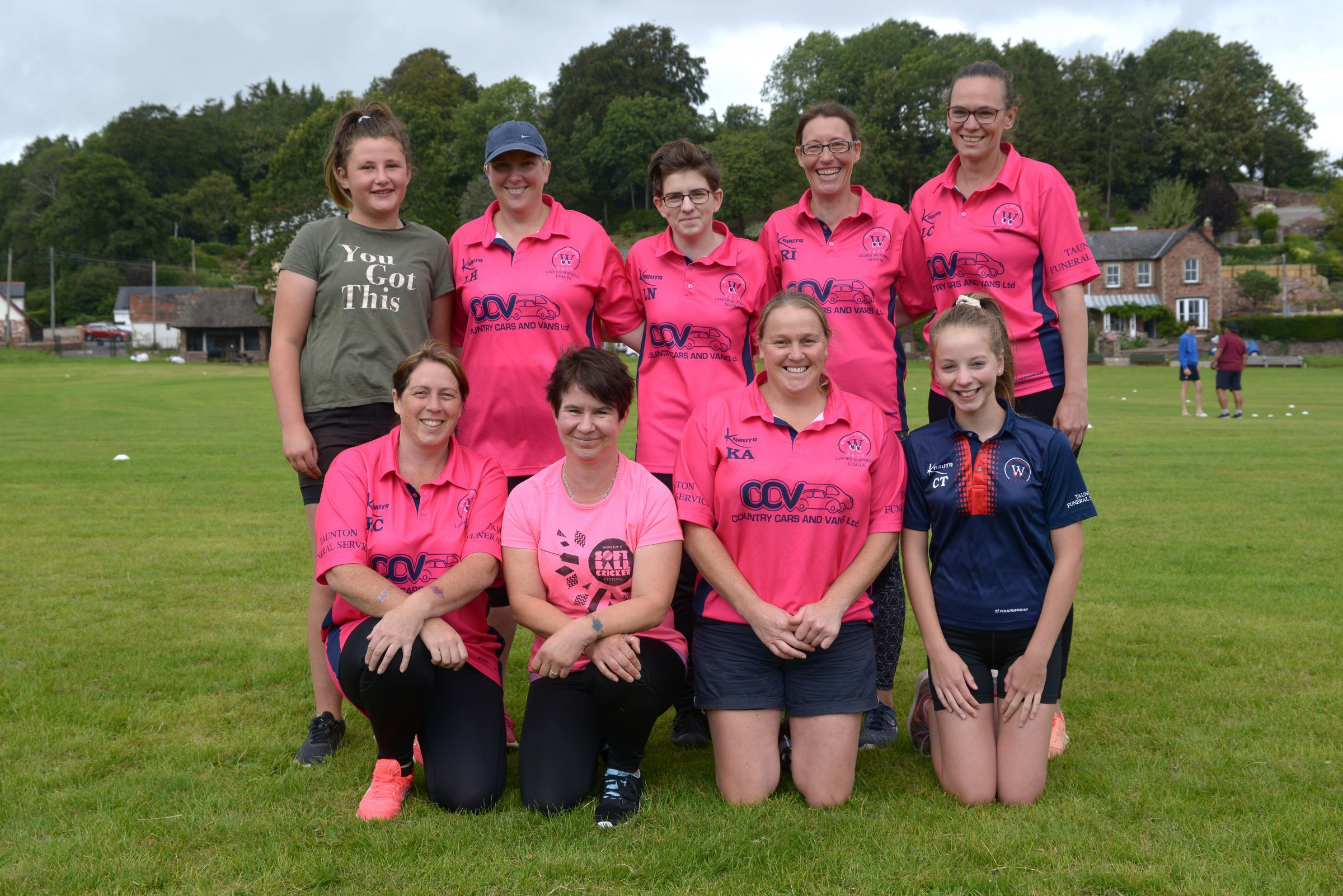Wiveliscombe Cricket Club host women's softball cricket festival