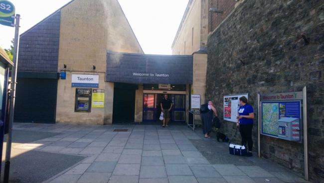 OPEN: Taunton train station's main entrance is now open