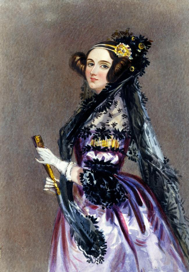 PIONEER: Ada Lovelace along with Charles Babbage helped develop the idea for a forerunner to the computer on her Porlock estate