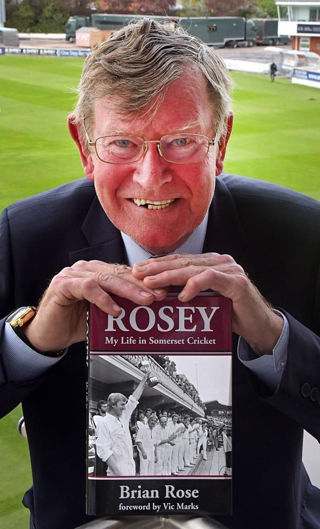 NEW BOOK: Brian Rose with his autobiography