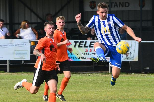 DECISION: Bridgwater Town and Wellington will remain in the Western League Premier Division next season. Pic: Steve Richardson