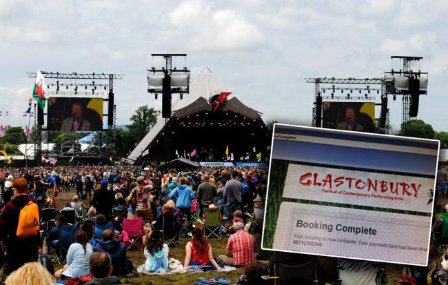 PROMISED LAND: Thousands will be trying to secure Glastonbury Festival tickets this week. PICTURES: Paul Jones