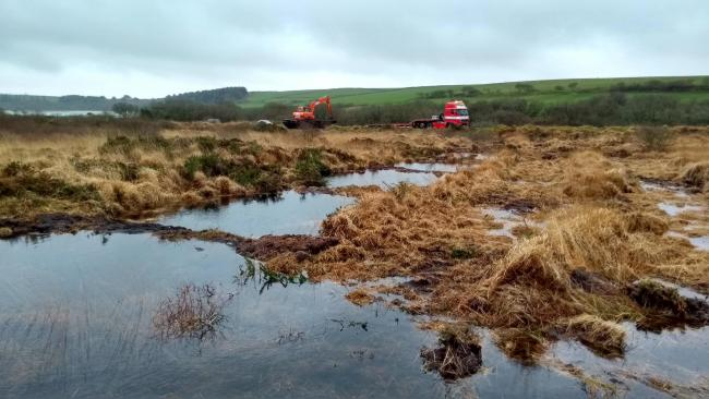 CONSERVATION: Ongoing work to restore at least 3,000 hectares of peatland in Exmoor National Park as part of the Exmoor Mires Partnership