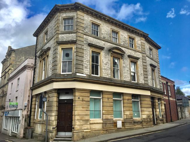 UP FOR SALE: The former NatWest in Shepton Mallet