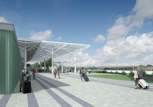 NEW LOOK: How Bristol Airport will look as part of its planning application for expansion