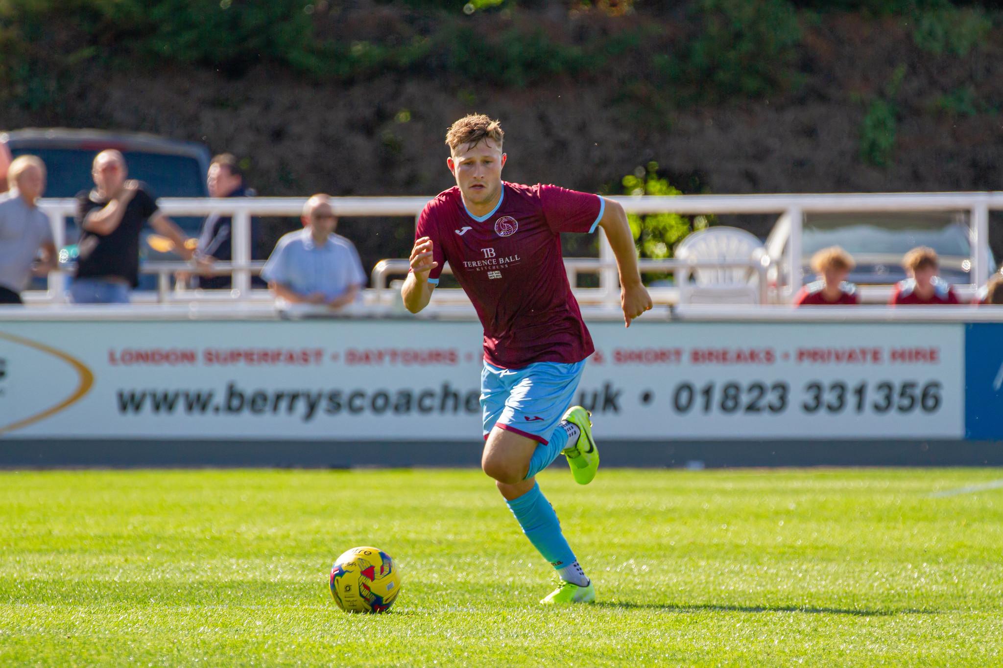 FOOTBALL: Focus on Taunton Town wing-backs Jamie Short and Shane White