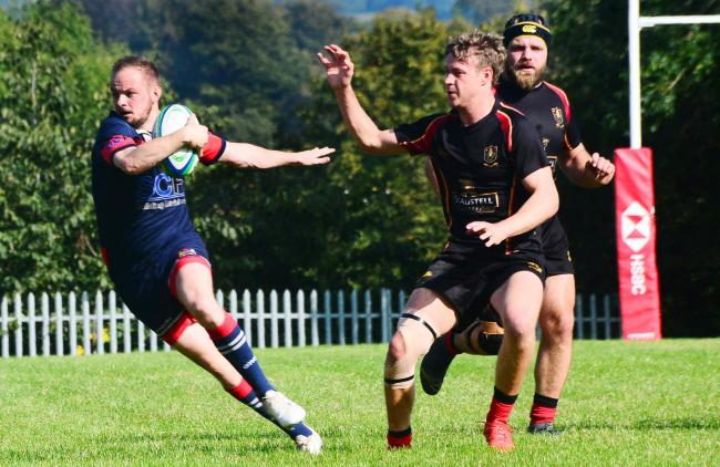 VICTORY: Wiveliscombe were involved in a game of two halves on Saturday
