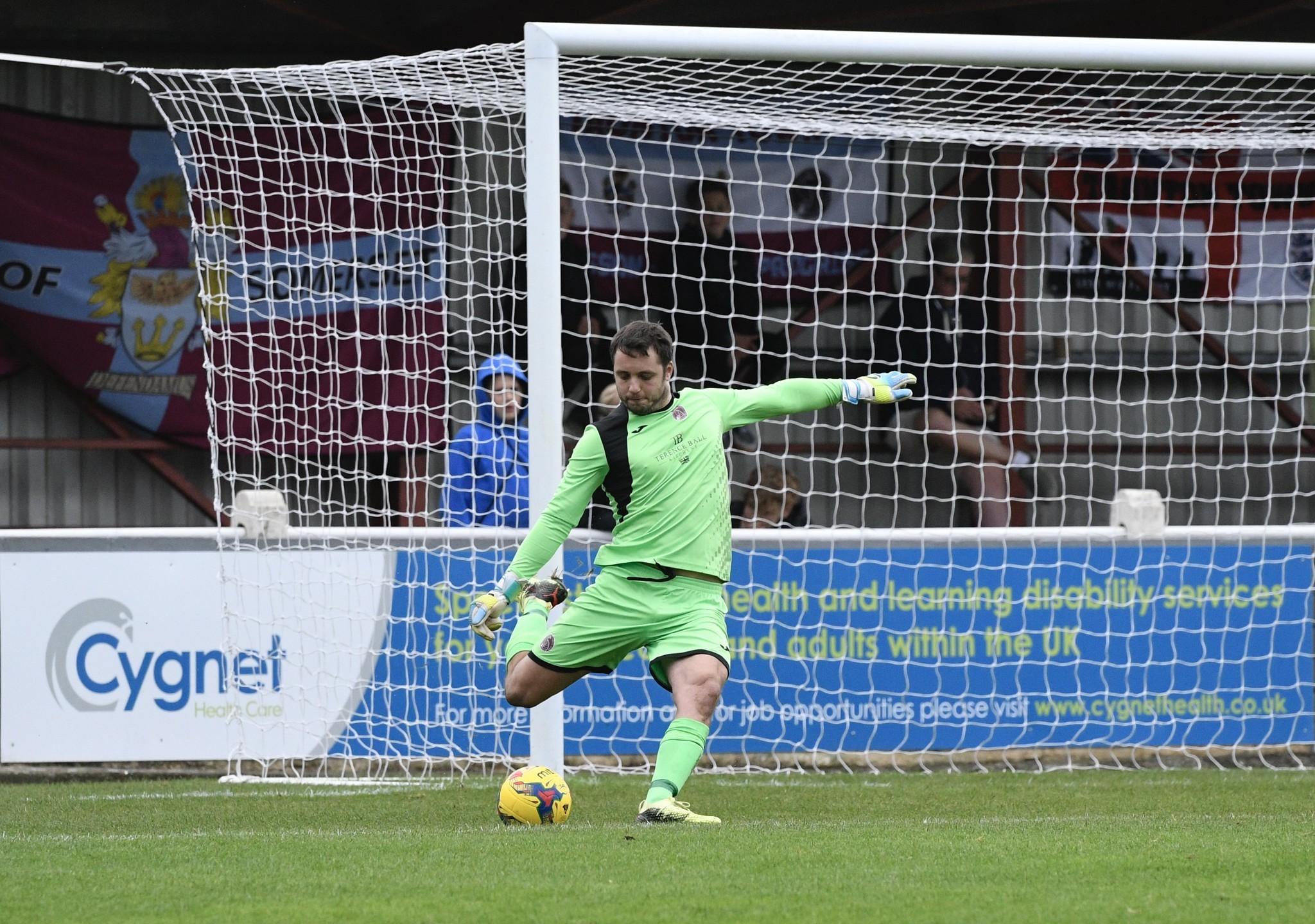 FOOTBALL: Rob Dray reacts to Taunton Town defeat at Salisbury