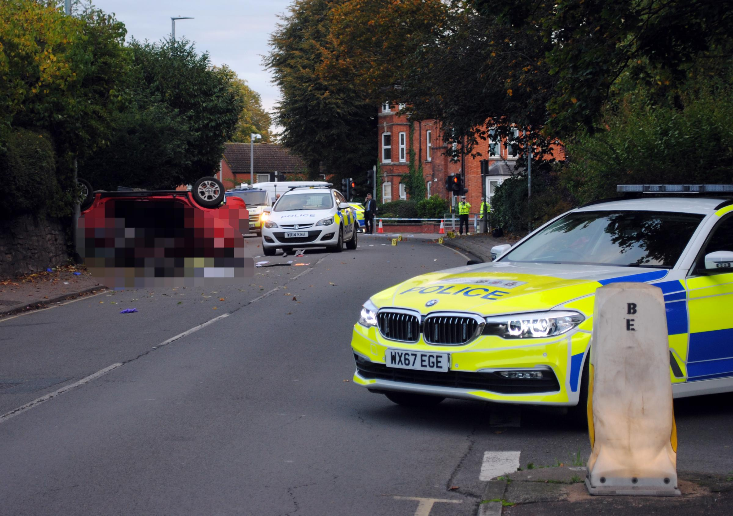 Clifton Terrace in Taunton town centre closed after 'serious accident'