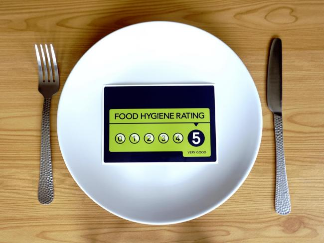 RATINGS: 30 restaurants have been given a five star rating by the Food Standards Agency