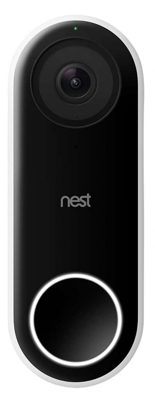 Somerset County Gazette: FACIAL RECOGNITION: Google Nest Hello Doorbell, £229. Picture: John Lewis/PA