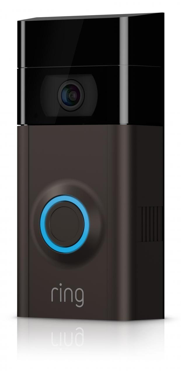 Somerset County Gazette: AMAZON-OWNED: Ring Video Doorbell 2, £179. Picture: Ring/PA