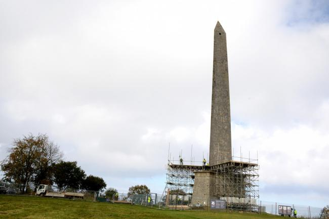 REPAIRS: The restoration project is underway