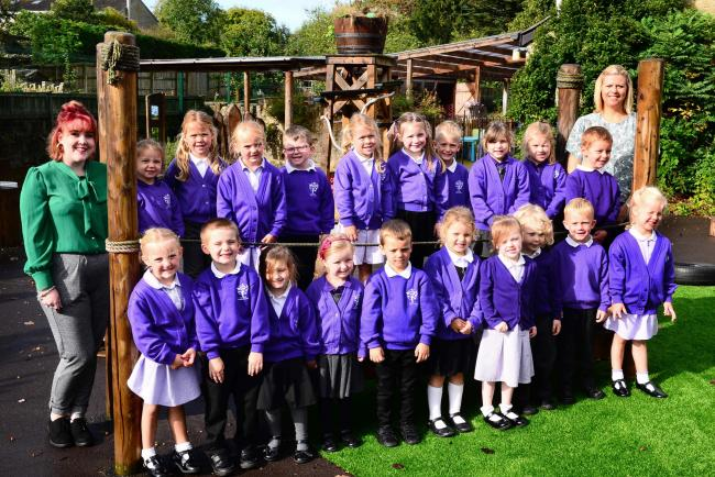 Pictures Somerset Youngsters First Day At School
