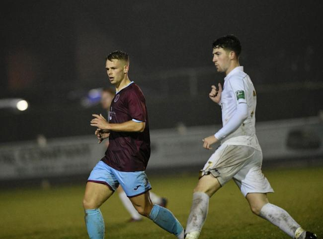 PROSPECT: Harry Kite has impressed on loan at Taunton Town. Pic: COLIN ANDREWS