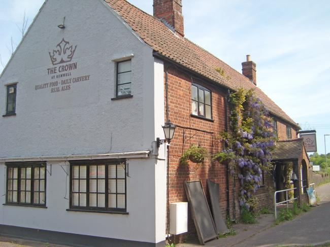 CHANGING: The Crown Inn, Rumwell