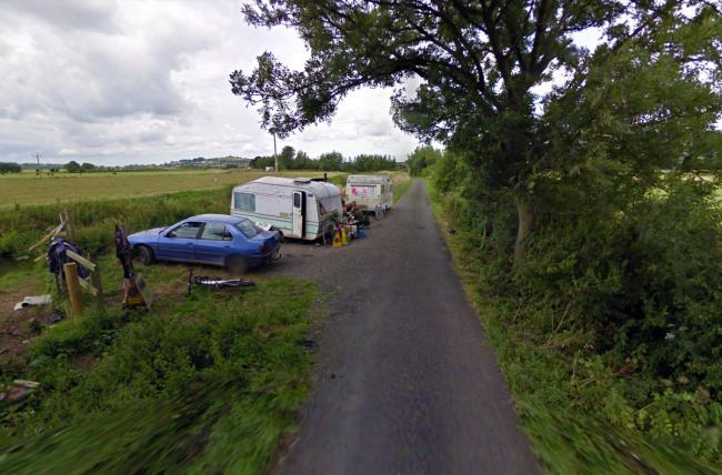 RURAL: Traveller communities have camped in Kennard Moor Drove in the past. PICTURE: Google Street View