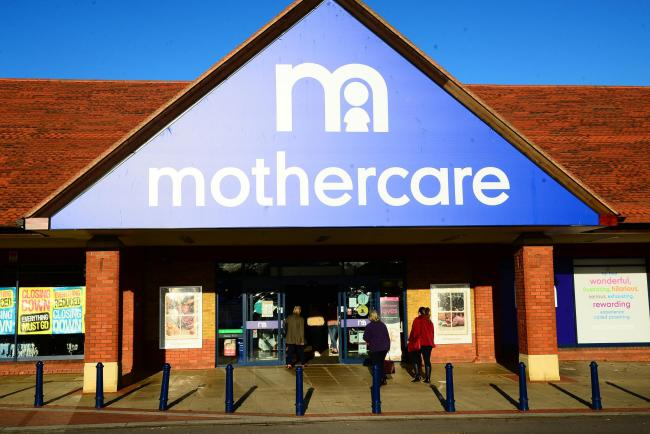 CLOSING DOWN: The Mothercare store in Taunton