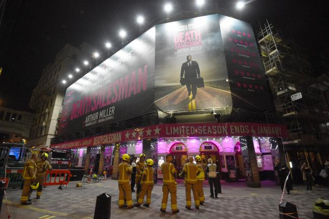 Piccadilly Theatre ceiling collapse