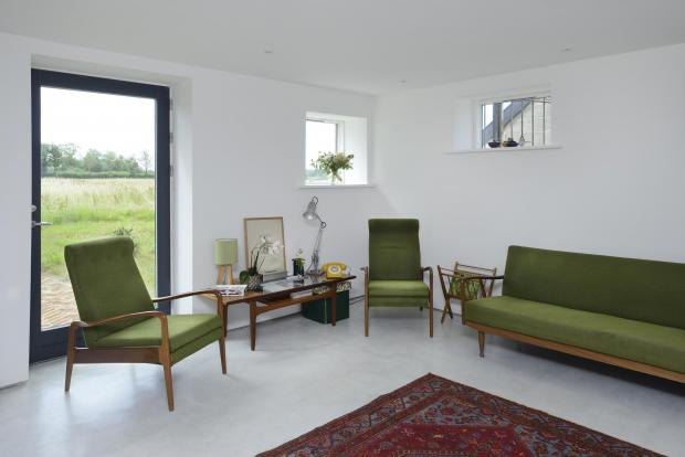 Somerset County Gazette: CONVERTED: Andrea and Duncan Pyles' self-build project. Photos: Neil Rigden