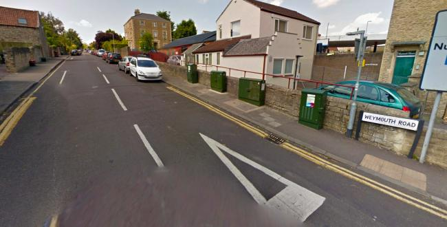 SCENE: Vehicles were attacked in Weymouth Road, Frome, and in Somerset Road. PICTURE: Google Street View