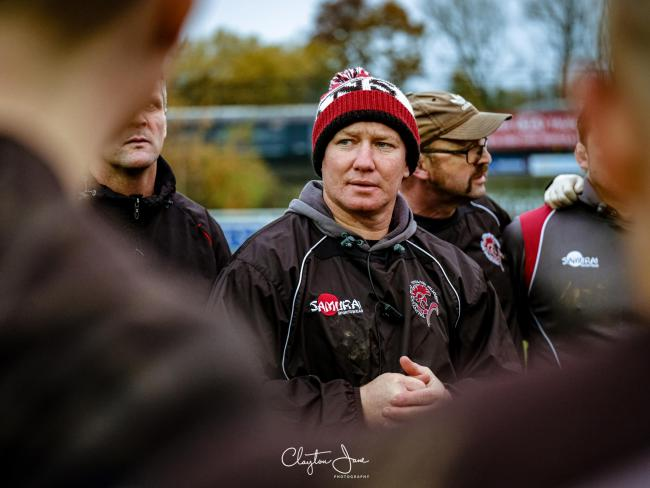 HOME WIN: Taunton head coach Tony Yapp. Pic: Clayton Jane Photography