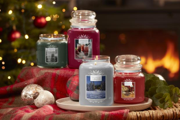 FESTIVE: Yankee Candle Alpine Christmas collection